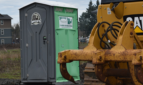 Portable restrooms for construction sites and agriculture