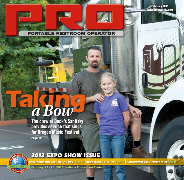 Buck's was featured in PRO magazine!