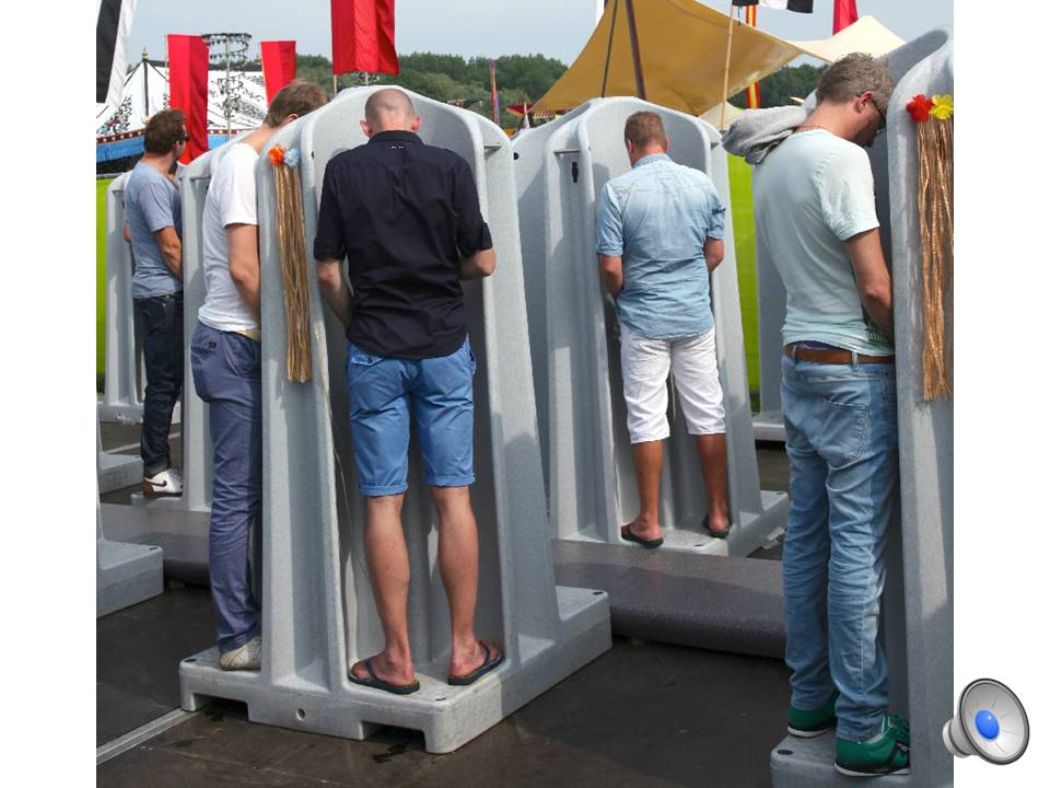 4-Stall Urinals