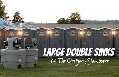 Large Double Sinks at the Oregon Jamboree