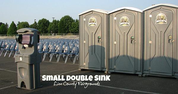 Small Double Sink Linn County Fairgrounds