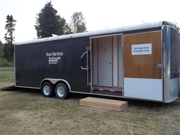 trailer lg shower gatormade mobile trailers showertrailer