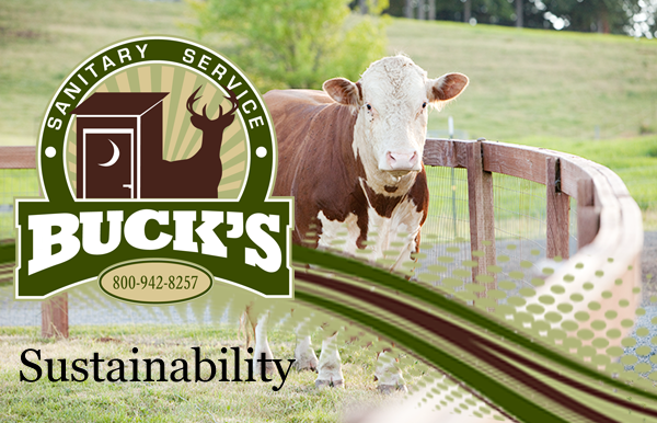 Buck's Sanitary Service - sustainability