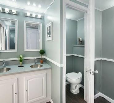 The Ritz Flush Restroom Interior