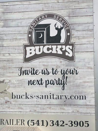 Buck's Sanitary Service - Invite us to your next party!