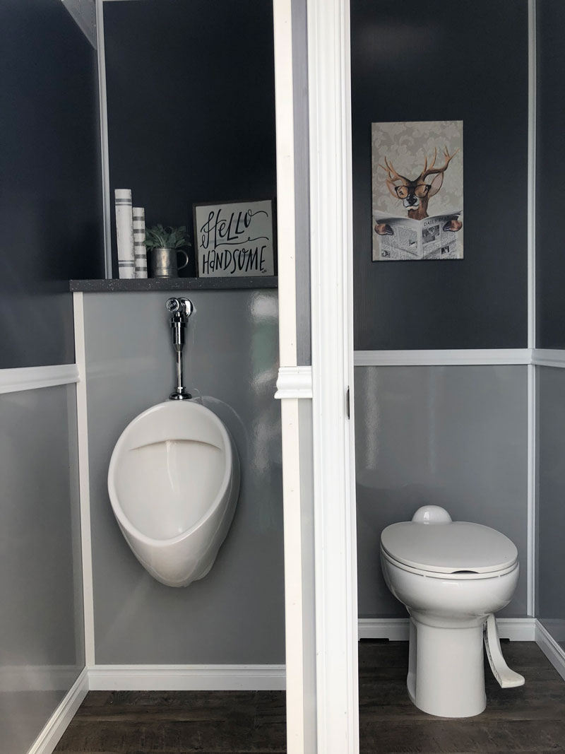 Portable urinal and toilet stalls