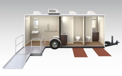 The Assistant - Portable restroom trailer