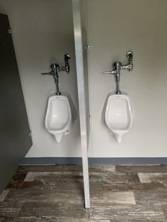 The Cottage urinals