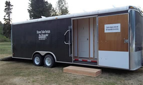 Shower Trailer for Large Groups
